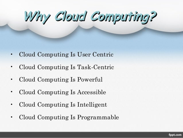 Cloud computing ppt | play ppt.