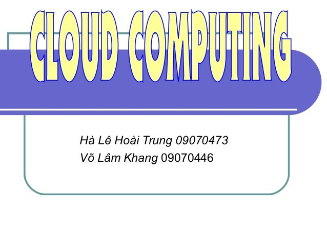 """cloud computing relies on sharing of """"cloud computing"""" takes hold as 69% of all internet users have either stored data online or used a web-based software application some 69% of online americans use webmail services, store data online, or use software programs such as word processing applications whose functionality is located on."""