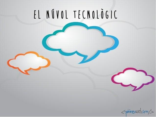 El núvol tecnològic