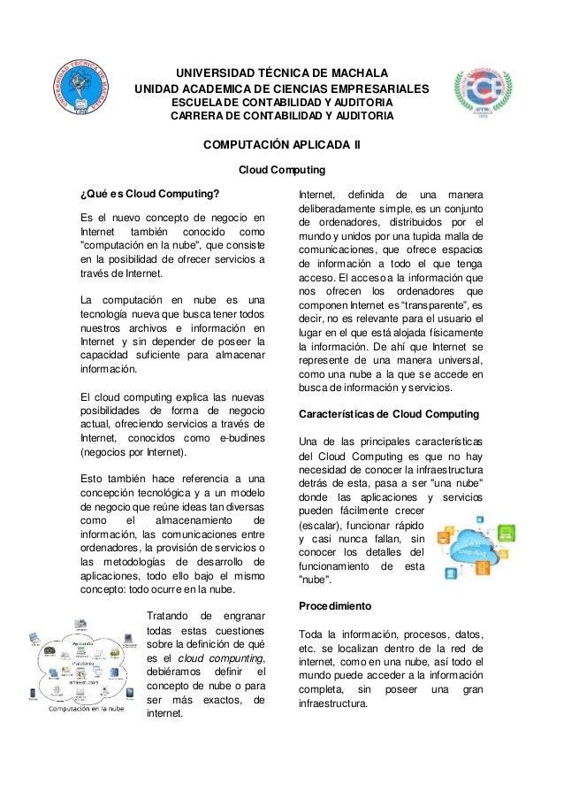UNIVERSIDAD TÉCNICA DE MACHALA UNIDAD ACADEMICA DE CIENCIAS EMPRESARIALES ESCUELADE CONTABILIDAD Y AUDITORIA CARRERA DE CO...