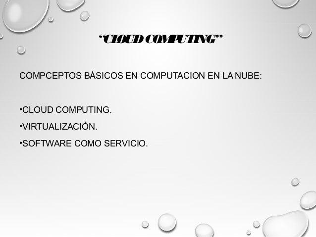 cloud computing  computacion en la nube  resumen capitulo1