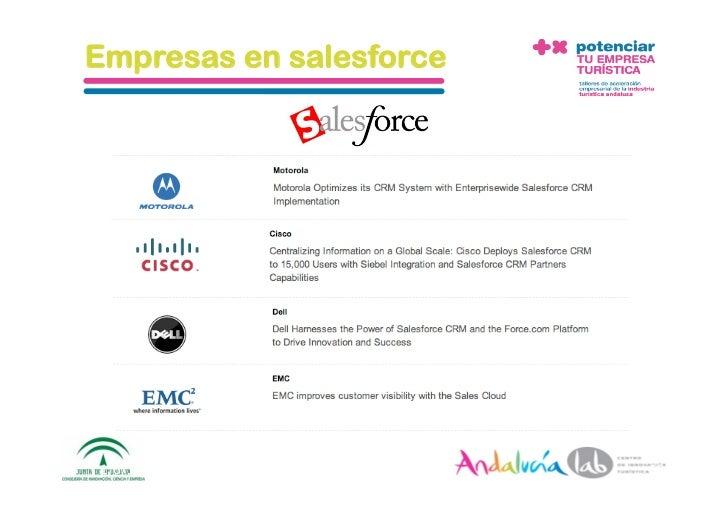 Empresas en salesforce     1/6/10   DepartamentodeMarke2ng‐Socialtec   15