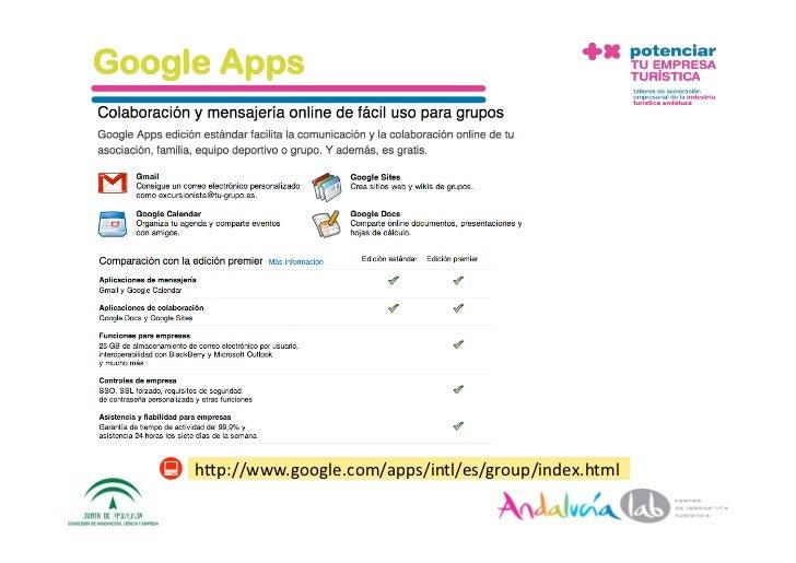 Google Apps               hAp://www.google.com/apps/intl/es/group/index.html  1/6/10       DepartamentodeMarke2ng‐So...