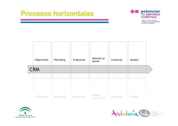 Procesos horizontales                                                   Atención al        Página Web    Marketing   Produ...
