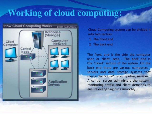 issues in cloud computing What is a cloud computing  • nist defines cloud computing by: – 5 essential  characteristics – 3 cloud service models – 4 cloud deployment.