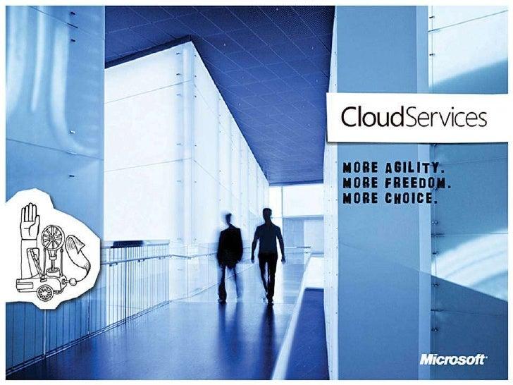 Cloud Present SOA 2000s Web 1990s Client-Server 1980s Mainframe 1970s Evolution to the Cloud