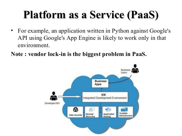 Paas comes of age: why platform as a service needs to be part of.