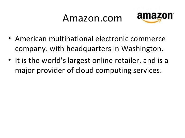 amazon and cloud computing pdf