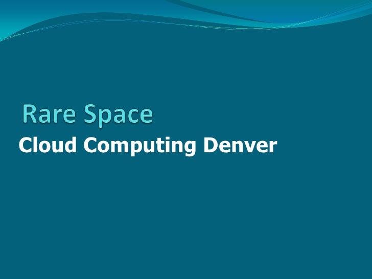 Cloud Computing Denver