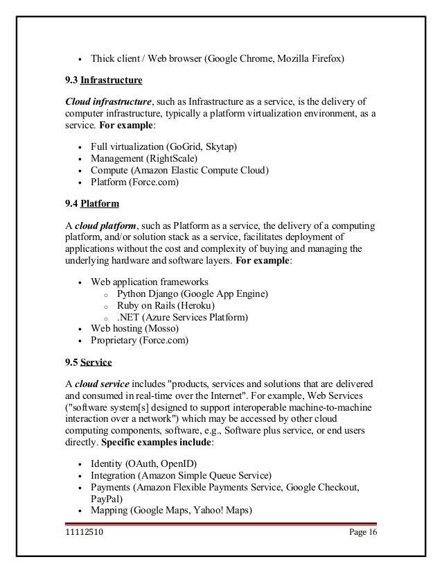 Cloud Computing Documentation Report
