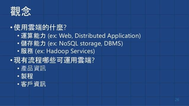 製造躍雲端 要懂服務 Source: http://udn.com/NEWS/FINANCE/FIN3/8468511.shtml