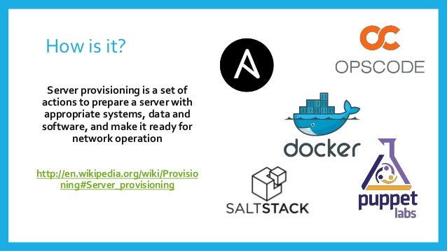 How is it? Server provisioning is a set of actions to prepare a server with appropriate systems, data and software, and ma...