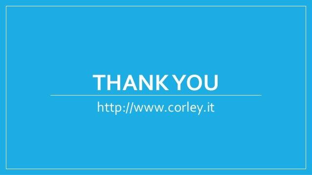 THANKYOU http://www.corley.it