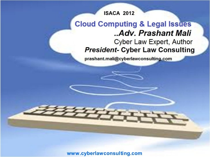 ISACA 2012www.cyberlawconsulting.com