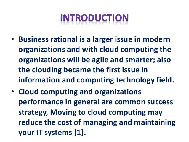 cloud computing thesis statement Information technology thesis with suggestive topics for information technology suggestive topics for information technology thesis paper cloud computing.