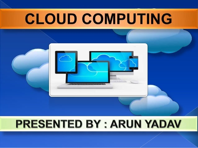 Cloud computing is location-independent computing, whereby shared servers provide resources, software, and data to compute...
