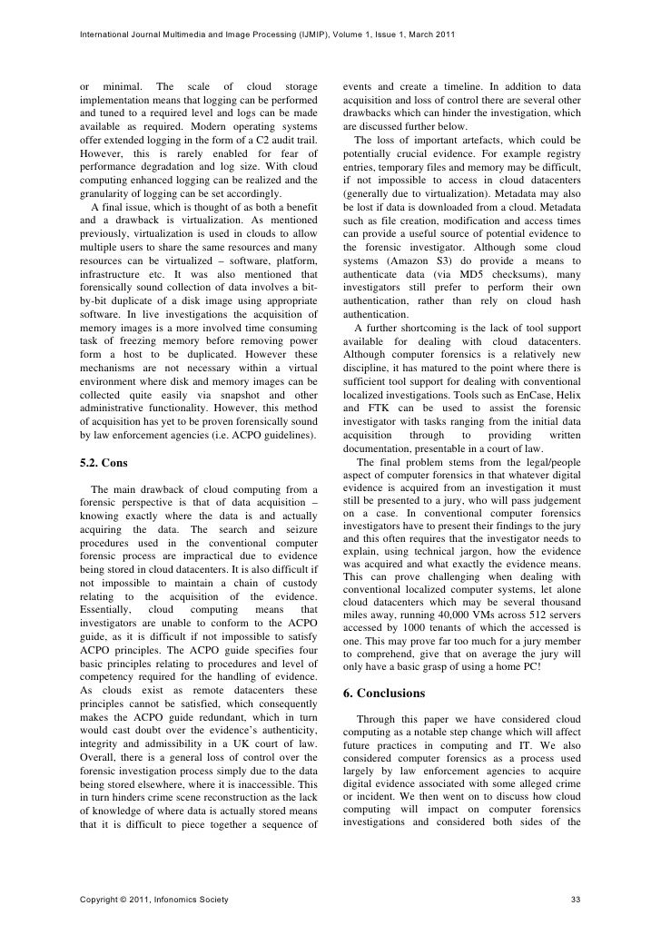 cloud computing pros and cons essay There are advantages and disavantages on the environment from the world shifting to the cloud for computing and digital needs environmental cons of using the cloud: printing and paper needs are significantly reduced when countless documents are shared and collaborated over the cloud.