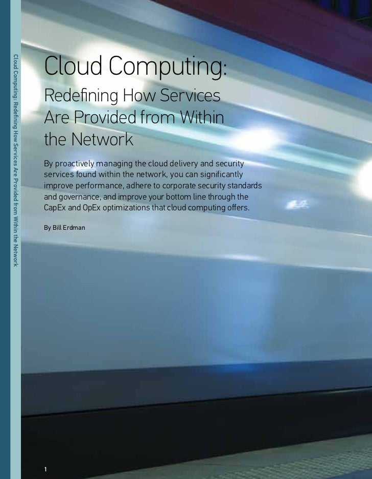 Cloud Computing:Cloud Computing: Redefning oo eeriiee ee eorided eom                                                      ...