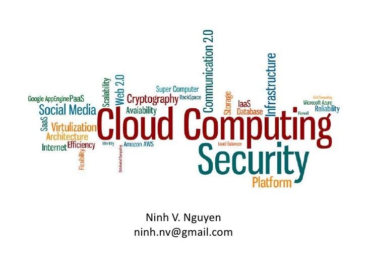 Ninh V. Nguyen<br />ninh.nv@gmail.com<br />