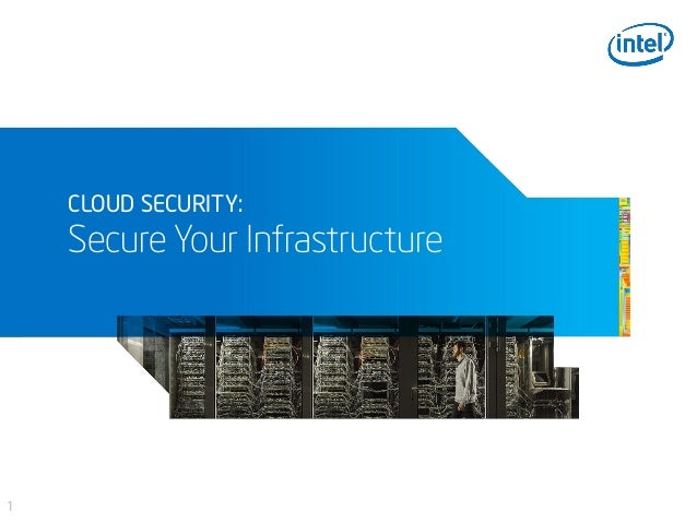 1 CLOUD SECURITY: Secure Your Infrastructure