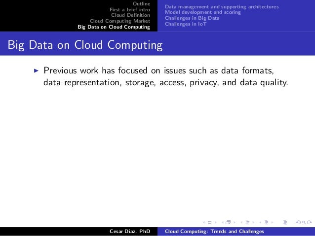cloud computing trends and challenges Ad-hoc cloud computing now a days has become one of the most talked about technologies in terms of cost and computational promises it present to the enterprise.
