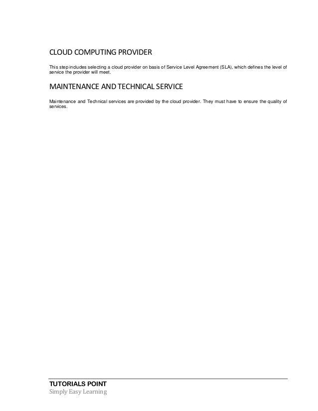Cloud Computing Tutorial