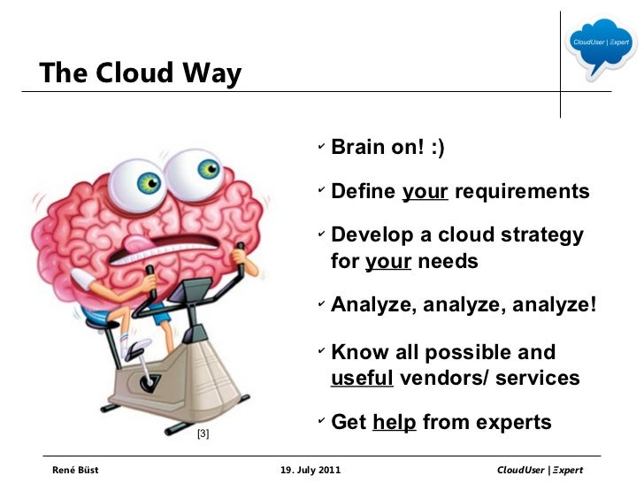 The Cloud Way                          ✔                              Brain on! :)                          ✔             ...