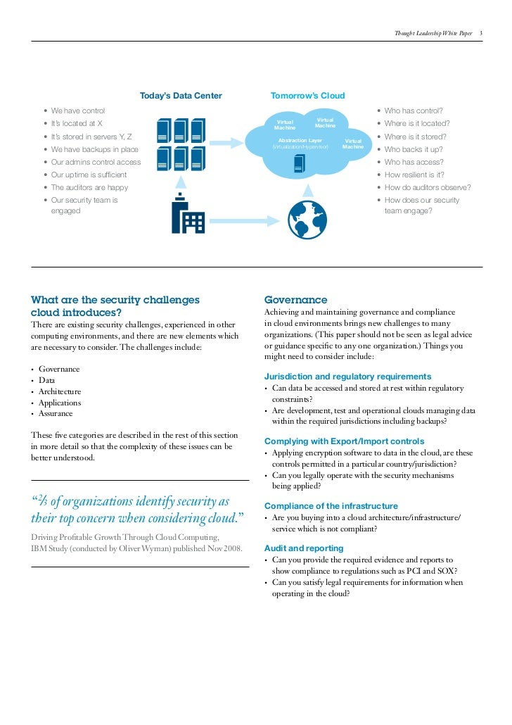 thesis report on cloud computing This document represents the master thesis of the master in computing, at barcelona school of  cloud computing is a computing paradigm in which organizations can store their data remotely.