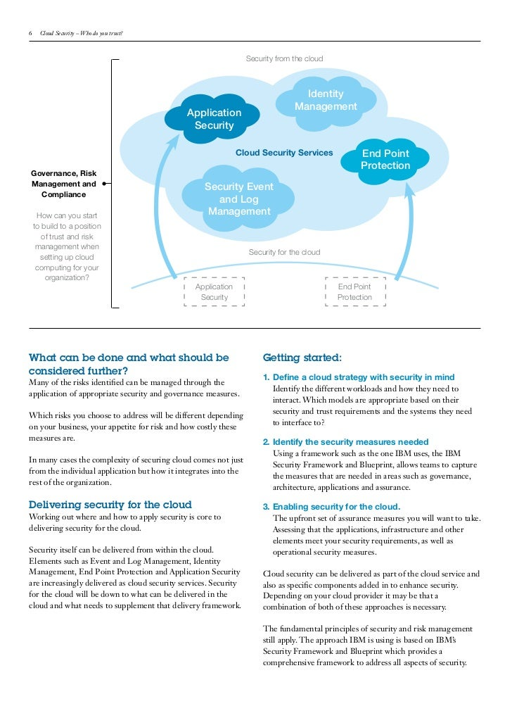 Cloud computing white paper who do you trust