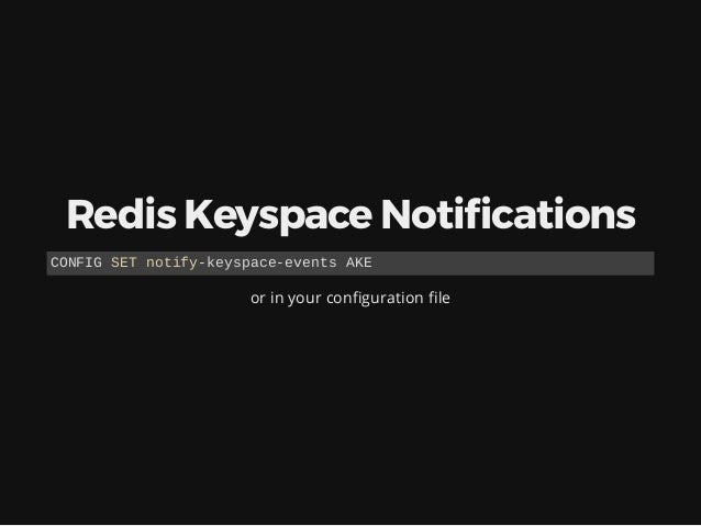 """Here the event $ cat mydb.conf 