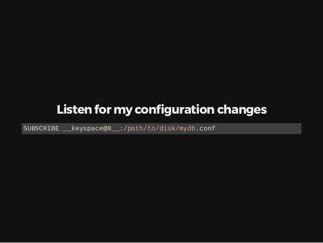 Distributed locks In a single node for redis NX - if not exists PX 30000 - expires in 30000 ms SET /etc/lock/username/.loc...