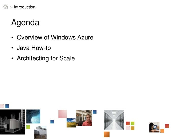 CloudConnect 2011 - Building Highly Scalable Java Applications on Windows Azure Slide 2