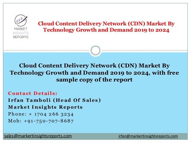 Contact Details: Irfan Tamboli (Head Of Sales) Market Insights Reports Phone: + 1704 266 3234 Mob: +91-750-707-8687 Cloud ...