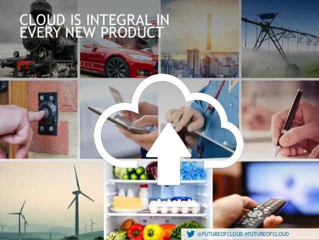 @FUTUREOFCLOUD #FUTUREOFCLOUD@FUTUREOFCLOUD #FUTUREOFCLOUD CLOUD IS INTEGRAL IN EVERY NEW PRODUCT