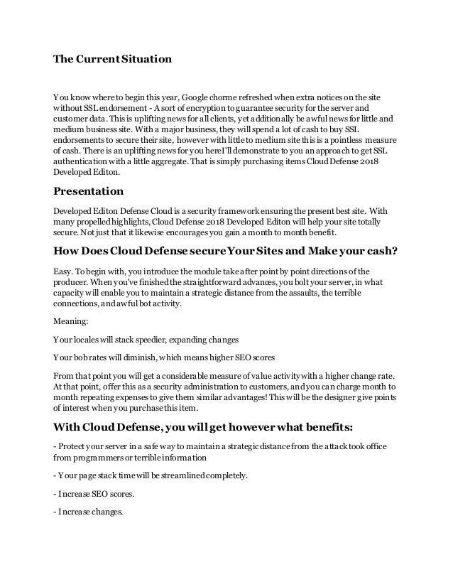 Cloud defender 2018 developer edition download