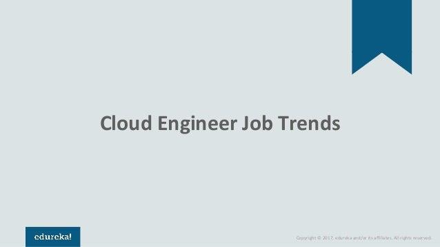 Cloud Engineer Jobs, Resume & Salary | Edureka