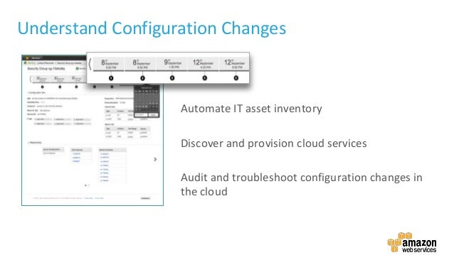 Understand Configuration Changes Automate IT asset inventory Discover and provision cloud services Audit and troubleshoot ...