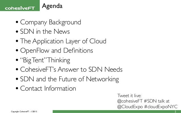 Cloud Expo New York: OpenFlow Is SDN Yet SDN Is Not Only OpenFlow Slide 2