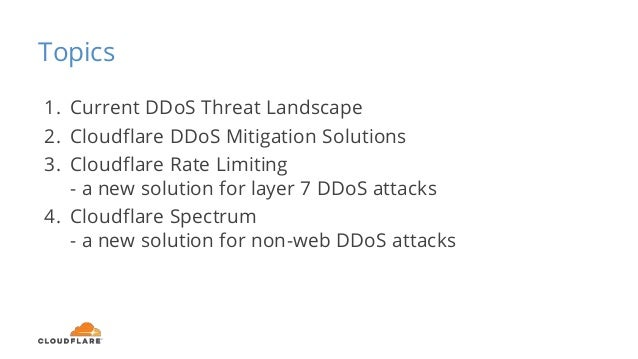 Filling the Gaps in Your DDoS Mitigation Strategy Slide 3
