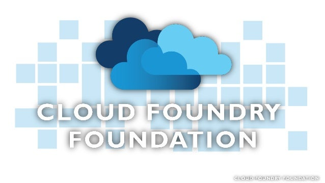 Cloud Foundry Foundation 2015 Overview Sam Ramji, CEO