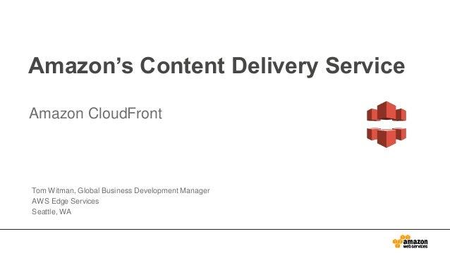 Introduction to Amazon CloudFront - Pop-up Loft Tel Aviv