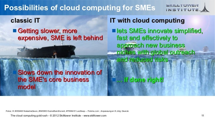Possibilities of cloud computing for SMEs    classic IT                                                                   ...