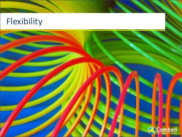 Flexibility Scalability  &  high  availability ElasJc  resource  allocaJon Pay  as  you  go/grow Fast  s...