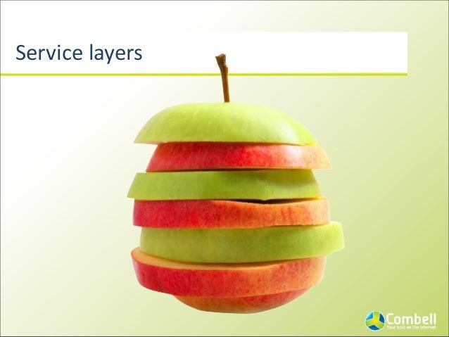 Service  layers SaaS PaaS IaaS