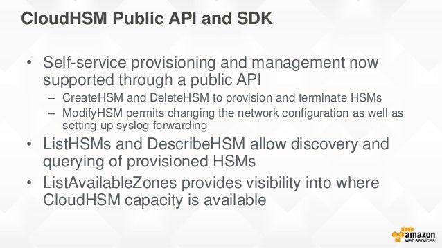 Aws Dedicated Hsm - 0425