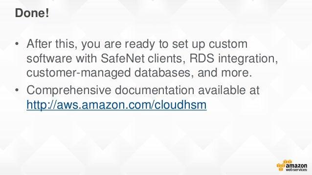 Deep Dive: AWS CloudHSM (Classic)