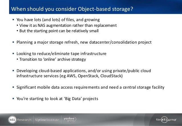 Why Object Storage Matters In Today S Storage Environment