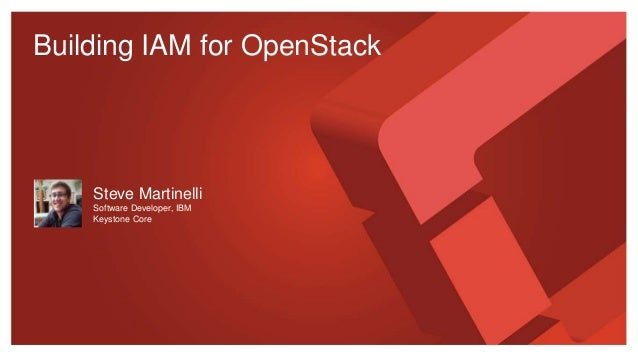 Building IAM for OpenStack