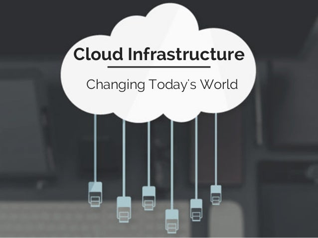 Cloud Infrastructure Changing Today's World