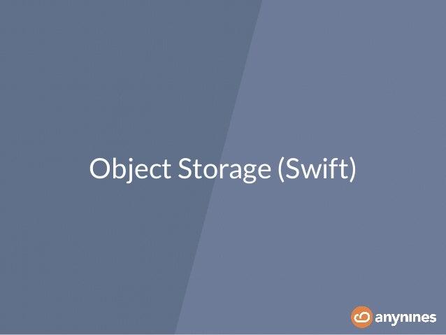 Object Storage (Swift)